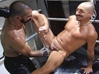 Deigo Montana and Sam Keller at Club Inferno Dungeon