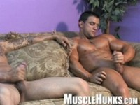 Macho and Randy Clip 4 at Muscle Hunks