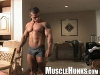 Clayton Cobb Clip 1 at Muscle Hunks