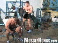 Johnny and Lev Clip 1 at Muscle Hunks