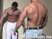 Johnny and Lev Clip 2 at Muscle Hunks