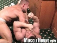 Johnny and Lev Clip 3 at Muscle Hunks