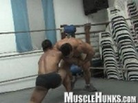 Ko and Timmy with Bill Clip 2 at Muscle Hunks