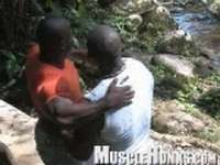 Orso with Pablo and Augusto Clip 1 at Muscle Hunks