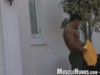 Ko Ryu 1 Clip 1 at Muscle Hunks
