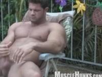 Kurt Beckmann Returns Clip 4 at Muscle Hunks