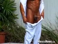 Rico Elbaz Clip 2 at Muscle Hunks