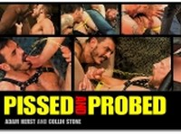 Pissed and Probed Scene 1 at Titan Men