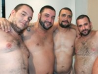 Spanish Bears Bukkake Gangbang Preview Bear Films