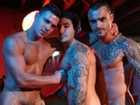 Paddy and Johnny with Isaac Preview UK Naked Men