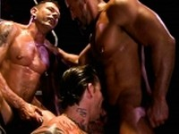 Your Masters Threesome Raging Stallion