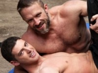 Wresting for Top Position UK Naked Men