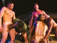 Grunts Orgy Raging Stallion