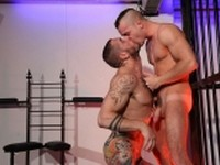 Muscle Pup with Harley Butch Dixon