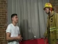 Fireman Gets Fucked By Latino at Just Gone Gay