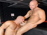 Ty Lebeouf and Carlo Cox at Alpha Male Fuckers