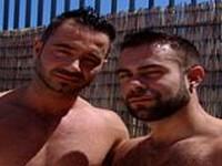 Martin Mazza and Steve Cruz at Alpha Males