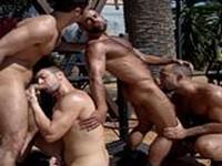 Butch Grand Steve Cruz Dillon Buck and Dan Vega at Alpha Males