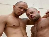 Jaxson Phillip and Leo Buckovak at Alpha Males