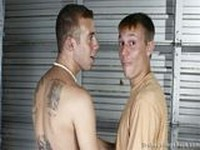 Hunter and AJ at Broke College Boys