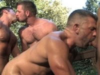 Bruno Bond, Bron Lewis, Sean Stavos Morgan Black Hard Friction