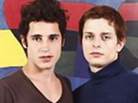Thomas and Gaston at Maximo Latino