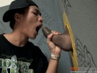 Hip Hip Boy Sucking Cock at Boy Glory Hole