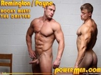 Rocky and Carl at Power Men