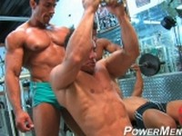 Carter and Skip Clip 1 at Power Men