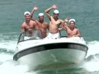 Gay Boat at Jizz Orgy