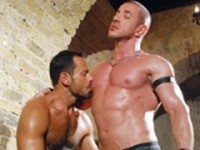Marius Mugler and Jason Torres at Alpha Males