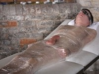 Blindfolded and Mummified at Boynapped