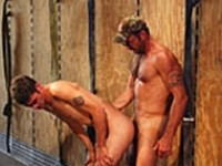 Jason Crew and Gus Mattox at Colt Studio Group