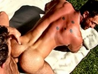 Aaron Cage and Brenden Cage at Colt Studio Group