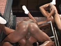 Anaconda Black Thunder Dekarlo Jaz Mickey and Sexcyone at Thug Orgy