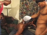 Blu Black Dekarlo J Anthony Juanito Cruez Sexcyone at Thug Orgy