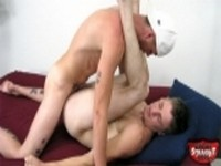 2 Leon and Mike Anal at Broke Straight Boys