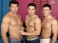 Reese Rideout Leo Giamani and Vincent DeSalvo at Randy Blue