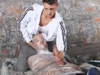 Leo Gets Mummified at Boynapped