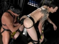 Derrick Paul Tyler Saint Spread Eagle at Club Inferno Dungeon