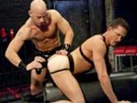 Jackson Lawless Patrick Rouge Hole Busters at Club Inferno Dungeon