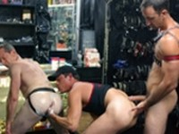 Armin Rush Joe Serrano Steve Richards Handpacked II at Club Inferno Dungeon
