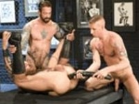 Daxx Reed Ian McQueen Mike Power Fisting Network at Club Inferno Dungeon