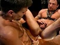 Aaron Brandt Aaron Tanner Matt Sizemore Butt Out at Club Inferno Dungeon