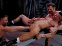 Eddie Moreno Jackson Price Rob Edwards At Arms Length Part 1 at Club Inferno Dungeon