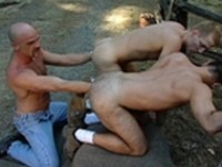 Lance Gear Mark Evrett Ryan Lexington Deep In The Woods at Club Inferno Dungeon
