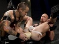 Josh Edwards Mason Garet Knuckle Sandwich at Club Inferno Dungeon