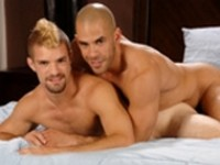 On The Set Austin Wilde and Adam Wirthmore at Austin Wilde