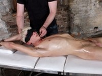 Strapped Down and Stimulated at Boynapped