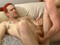 ginger military hunk muscle hairy redhead Naked Sword